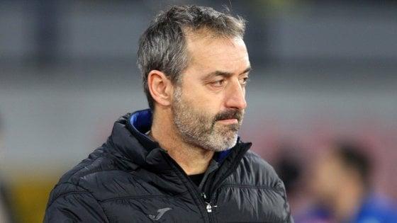 """Sampdoria, Giampaolo: ''Critiche giuste, contro l'Inter per ripartire"""""""