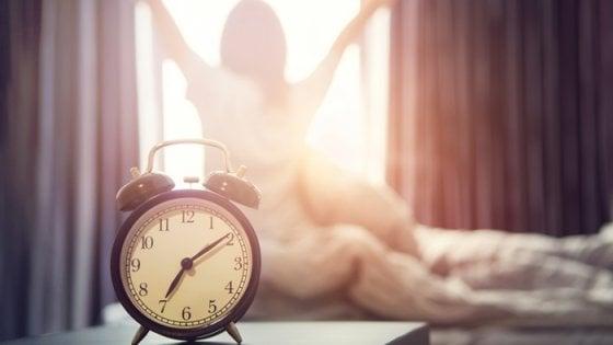 È la luce che fa la differenza nel modo di svegliarci al mattino