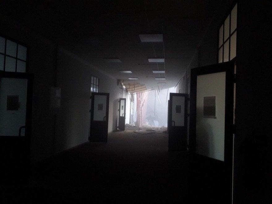Russia , crollo nell'università di tecnologia di San Pietroburgo: decine di dispersi