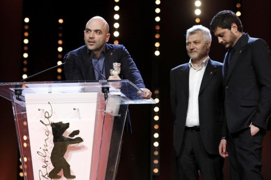Roberto Saviano vince a Berlino. La dedica