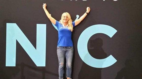 """Mariella, storia di una riscossa: """"Pesavo 100 kg, ora punto a 100 maratone"""""""