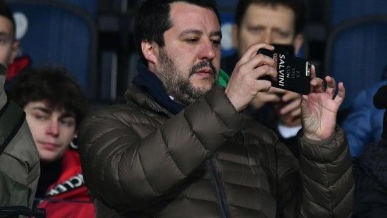 """Caso Diciotti, Salvini: """"Di Maio corretto e governo andrà avanti in ogni caso"""""""