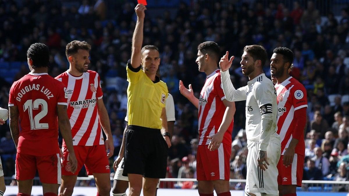 Liga, Real Madrid-Girona 1-2: Blancos a -9 dal Barcellona