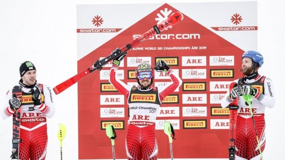 Sci, Mondiali Are: Hirscher si conferma re in slalom, è festa austriaca