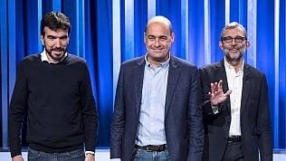 Primarie Pd, Zingaretti: In caso di crisi, chiederò il voto anticipato. I candidati in tv divisi su passato e alleanze