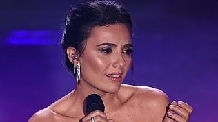 """Serena Rossi, proposta di matrimonio in diretta a """"Domenica In"""""""