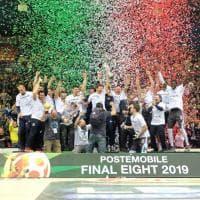 Basket, Coppa Italia: le immagini del trionfo di Cremona