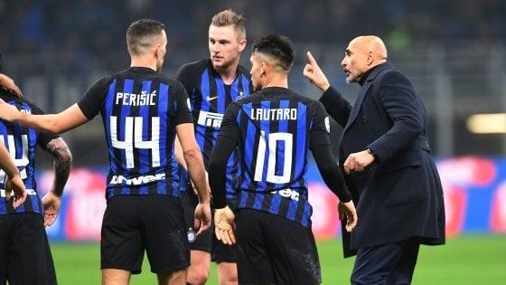 """Inter, Spalletti: """"Prova di serietà, avrei voluto Icardi negli spogliatoi"""""""