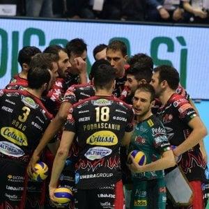 Volley, Superlega: Civitanova travolge Modena. Perugia senza problemi