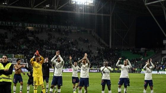 Francia, Psg con il minimo sforzo: Mbappè piega il Saint Etienne