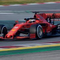 F1, test a Montmelò: in pista la nuova Ferrari