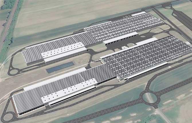 Il più grande tetto fotovoltaico d'Europa? E' dell'Audi