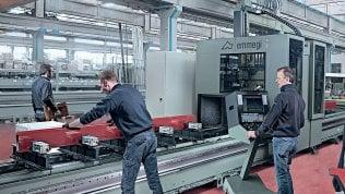 Male l'industria: fatturato meno 7,3%, calo peggiore dal 2009