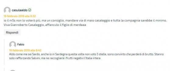 """Caso Diciotti, Nugnes (5S): """"Così si alimenta recessione etica"""". Gallo: """"Il 41% chiede cambio di passo"""". I malumori sul blog"""