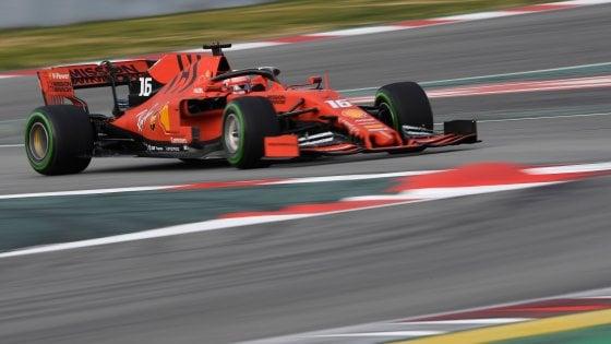 F1, test Montmelò: la Ferrari convince ancora, Leclerc davanti a tutti