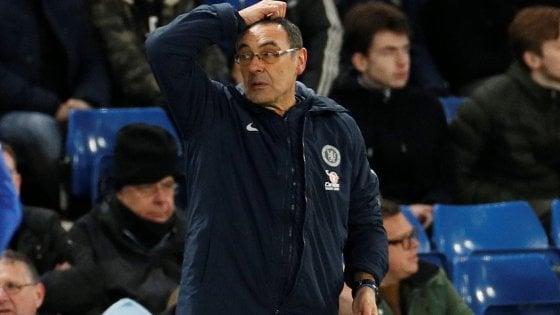 Chelsea, Sarri al capolinea: anche i tifosi lo scaricano