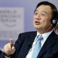 Huawei, il fondatore Ren: