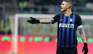 Inter, Icardi è ancora out. Wanda twitta: ''Non gioca senza fascia? Falso''