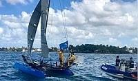 In due su un catamarano di 6 metri: domato l'Atlantico