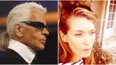 La bimba e Karl Lagerfeld: la storia sul vestito emoziona