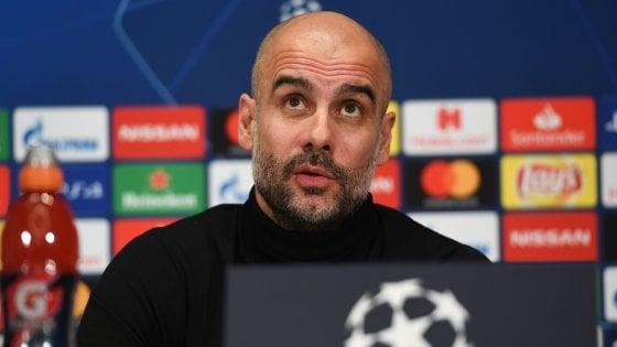 """Schalke-Manchester City, Guardiola: """"Champions torneo speciale, abbiamo molti sogni"""""""