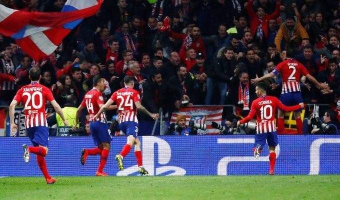 Per la Juve si fa dura, l'Atletico vince 2-0