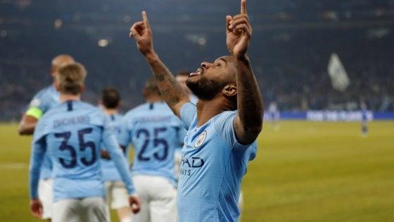 Schalke-Manchester City 2-3, Sané e Sterling decisivi nel finale