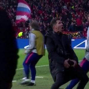 Atletico Madrid-Juventus, quel troglodita di Simeone