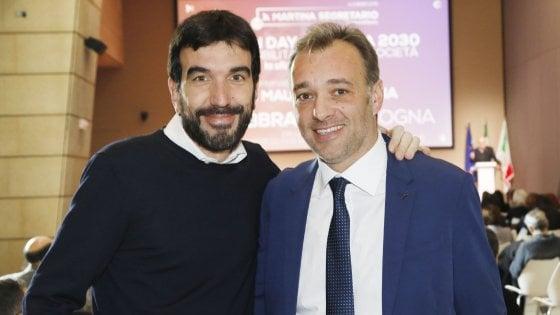 """Pd, Richetti in chat accusa Martina: """"Per me può andare a c..."""". Su Sky confronto fra i tre candidati alle primarie"""