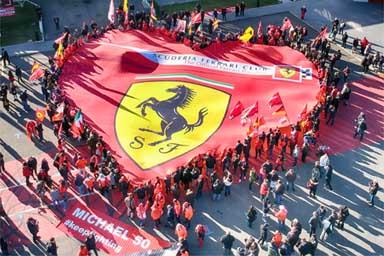 """""""Michael 50"""", che successo per la mostra Ferrari"""