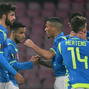 Europa League, Napoli-Zurigo 2-0: azzurri agli ottavi in scioltezza