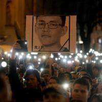 Slovacchia in piazza a un anno dalla morte di Jan Kuciak