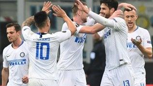 Inter-Rapid Vienna 4-0, tutto facile per i nerazzurri