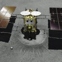 Sonda giapponese atterrata sull'asteroide Ryugu