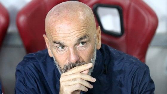 Fiorentina, Pioli difende Chiesa: ''Non è un simulatore, certi ex pontificano...''