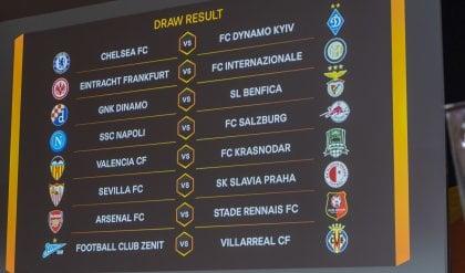L'Inter trova l'Eintracht  Il Salisburgo per il Napoli