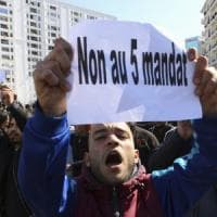"""Algeria in piazza: """"Basta Bouteflika. No a un nuovo mandato"""""""