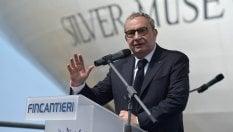 Fincantieri, Salvini si schiera per la riconferma dell'ad Bono