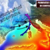 La primavera si fa attendere: lunedì piogge su Calabria e Sicilia