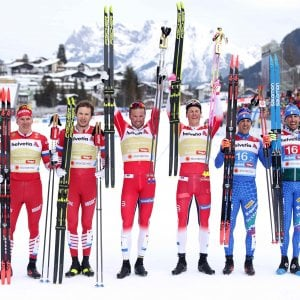 Mondiali sci fondo,  Pellegrino-De Fabiani bronzo nel team sprint