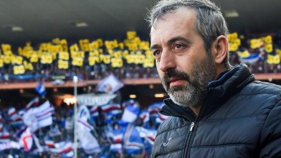"Sampdoria, Giampaolo: ""Più autostima per inseguire grandi traguardi"""