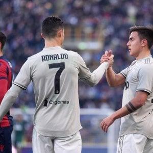 Bologna-Juventus 0-1: Dybala fa tornare il sorriso ai bianconeri