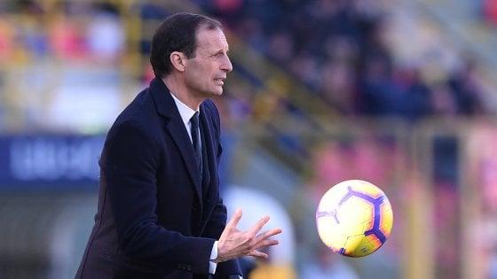 """Juventus, Allegri: """"Normale che ci fossero ancore scorie post Atletico"""""""
