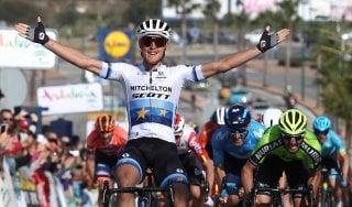 Ciclismo, è ancora Trentin in Andalucia