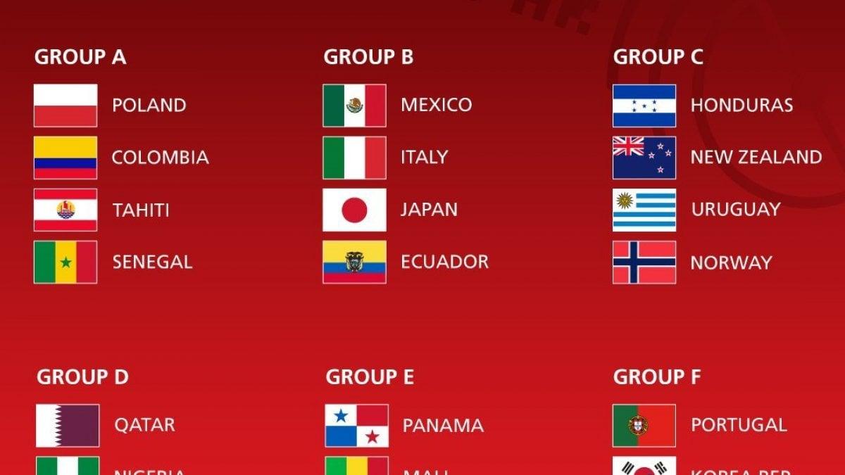 Mondiali Calendario.Mondiali Under 20 L Italia Nel Girone Con Messico Ecuador