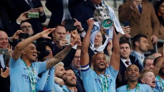 Inghilterra, la Coppa di Lega va al City: Chelsea ko ai rigori. Sarri furioso col portiere
