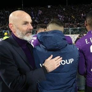 "Fiorentina, Pioli: ""Var protagonista? Certi rigori non li fischierei"""