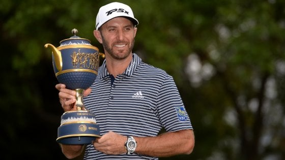 Golf, Messico Championship: vittoria show per Johnson, 17esimo Molinari