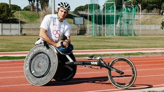 """Diego Gastaldi, l'atletica nel sangue: """"Mi piace più correre in carrozzina che a piedi"""""""
