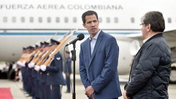 Venezuela, l'opposizione rilancia la sua sfida: Guaidó a Bogotà con il gruppo di Lima